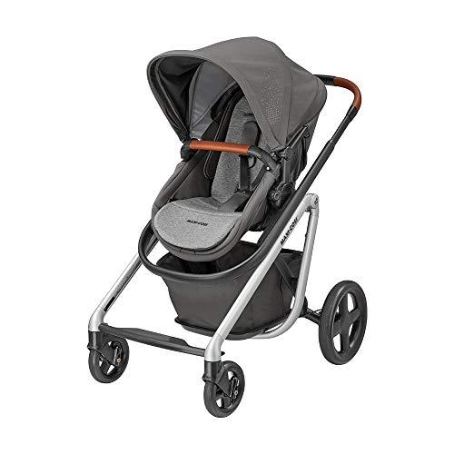 Maxi-Cosi Lila Bequemer Kinderwagen, Geeignet ab der Geburt, Reisesystem mit Babywanne, 0 Monate - 3,5 Jahre, 0-15 kg, Nomad Grey (grau)