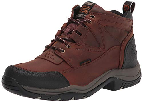 Ariat Terrain Waterproof Hiking Boot – Men's Leather Waterproof Outdoor Hiking Boots