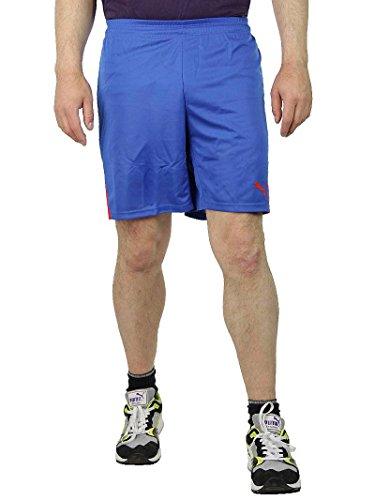 PUMA KC Team Ticino Short Fußball Traingsshorts Herren Sporthose blau, Bekleidungsgröße:XL