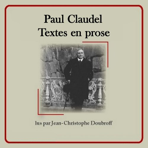 Textes en prose  audiobook cover art