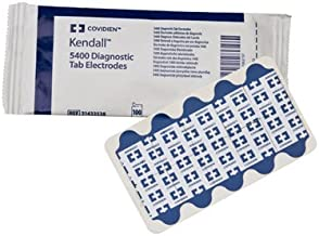 Covidien Kendall 5400 Diagnostic Tab Electrodes (31433538) (Pack of 1000)