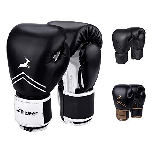 adidas Boxing Bag Gloves MMA Fitness Training Gloves Muay Thai Kickboxing-WH//GR