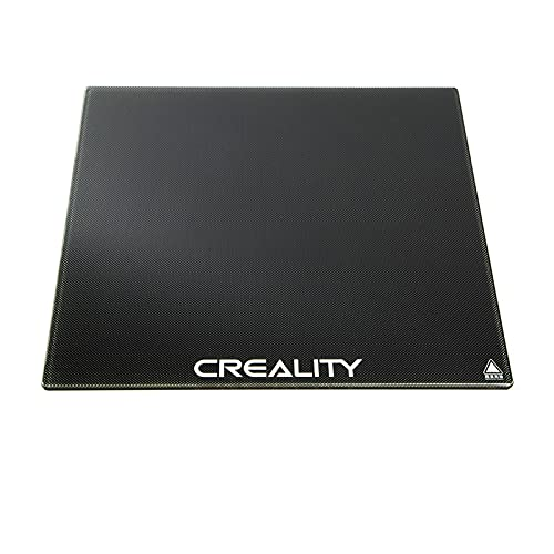 Fesjoy Lastra di Vetro Spessa, Glass Plate Build Surface Print Bed Platform 4mm Ultrabase 235x235mm per Stampante 3D Ender-3