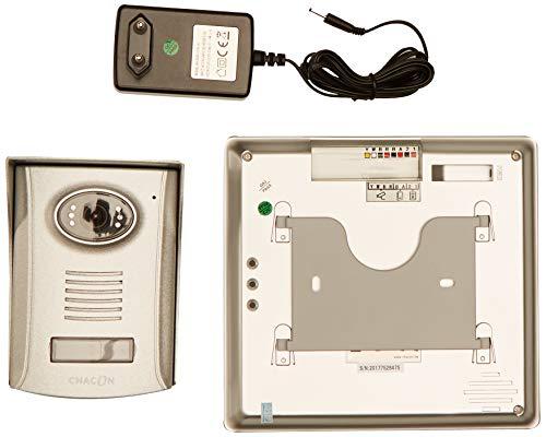 Video-deurintercom 2-draads 17,8 cm (7 inch) spiegel Ultra Slim