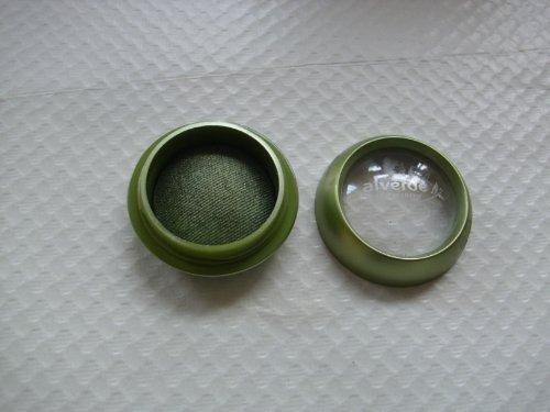 Alverde Naturkosmetik - Gebackener Lidschatten - 05 Green Jewel Lidschatten Mono Eyeshadow