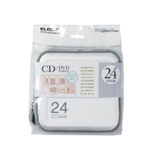 エレコム『CD/DVDファスナーケース(CCD-H24)』
