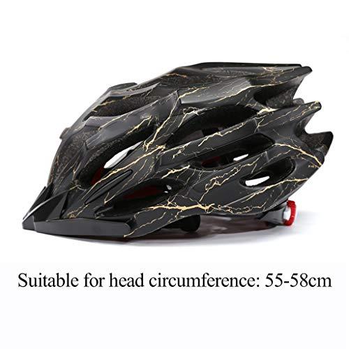 Ciclo casco ligero Casco Ciclismo MTB bicicleta adulta del ciclo de la...