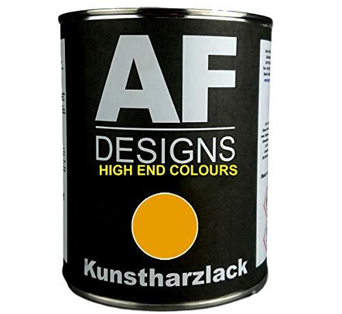 Alex Flittner Designs 1 Liter Kunstharzlack für AHLMANN GELB Maschinen LKW NFZ Lack Baumaschinen