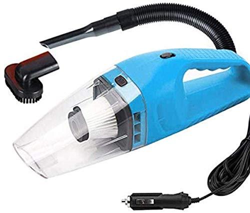 HNLSKJ De Mano Aspirador Aspirador de Coche 20W de Potencia de succión Fuerte húmedo y seco portátil, fácil de Limpiar ggsm