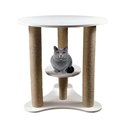 Gyubay Árbol de Gato portátil Compartiendo Mascota del Juguete Multiusos de Gato del Gato del hogar Mesa de Negociación Tabla Gato Muebles for Mascotas Torre de Gato de Juguete para Gatos