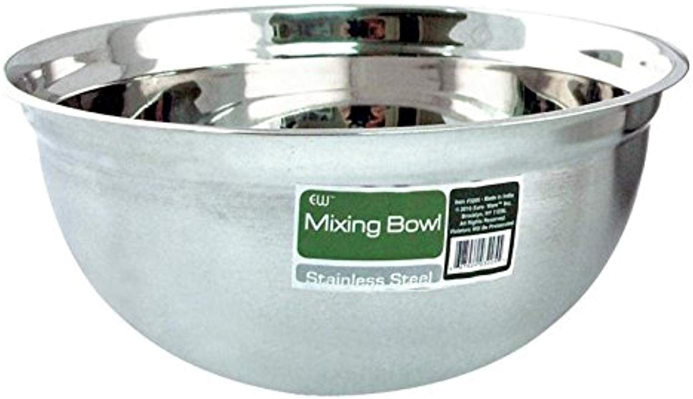 Euro Ware 3208 Mixing Bowl 8 Quart Stainless Steel