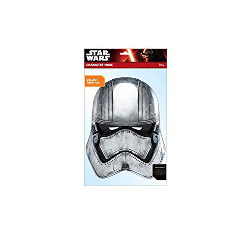Générique - MA1337 - Masque Adulte En Carton - Star Wars - Captain Phasma - Taille Unique