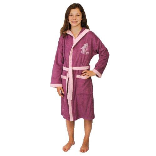 Mauz badjas/sleepshirt-set meisjes Born wild Mauve Jersey