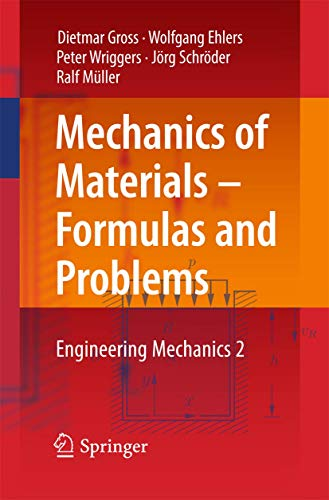 Mechanics of Materials – Formulas and Problems: Engineering Mechanics 2