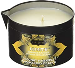 Kama Sutra Massage Candle Lubricant, Coconut Pineapple, 6 Fluid Ounce