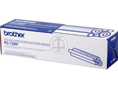 Brother Thermotransferrolle PC-72RF 2er-Pack (2x 144 Seiten) Verbrauchsmaterial