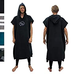 🏄‍♂️ Surf Poncho makes changing in and out of your wetsuit EASY, COMFORTABLE, and WARM. ☝️ ONE SIZE FITS ALL - even tall guys like Stevie! Other ponchos are SHORT and can still leave you exposed, so we made ours TALLER. 47 inches (120cm) from top of ...
