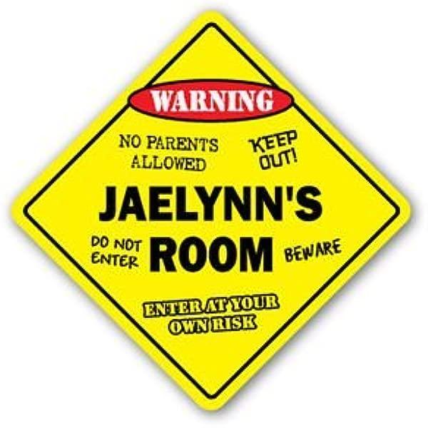 JAELYNN S ROOM Sticker Sign Kids Bedroom Decor Door Children S Name Boy Girl Gift Sticker Graphic Personalized Custom Sticker Graphic