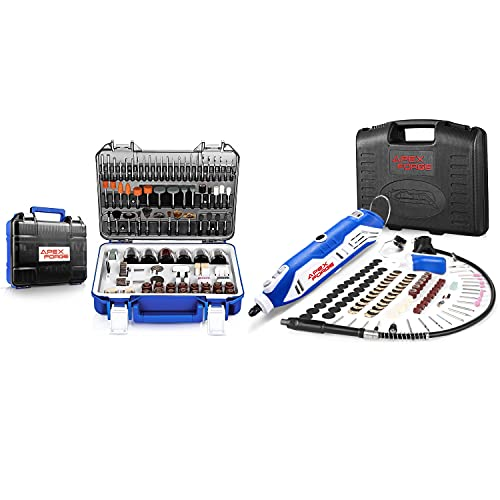 APEXFORGE Rotary Tool Accessories Kit with Rotary Tool Kit