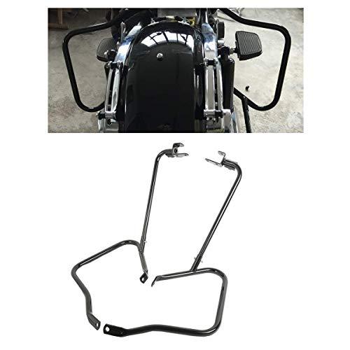 TCT-MT Saddlebag Bracket Guard Crash Bar Support fit For Harley Road King FLHR Street glide FLHX Special FLHXS Ultra Limited FLHTK CVO FLHTKSE 2014-2020; Road Glide FLTRX FLTRXS FLHXSE 2015-2020 Black