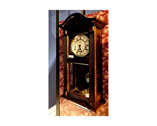 RELOJESDECO, Reloj de Pared mecánico, Reloj de Pared de péndulo 66cm, sonería Westminster con martillos