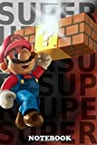 Notebook: Mario , Journal for Writing, College Ruled Size 6' x 9', 110 Pages