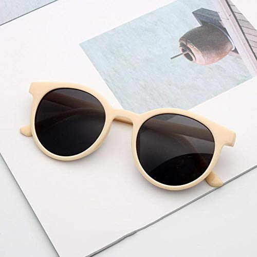 HAPKQZY Sonnenbrille Sonnenbrillen Netto rot Erwachsene Street Shooting Mode Sonnenbrillen Männer und Frauen mit dem gleichen Anti-UV-Fahrspiegel auf Bergsteigerbrille