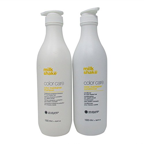 milk_shake color maintainer shampoo 1000ml and conditioner 1000ml by milk_shake