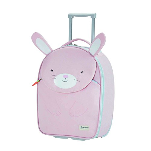 Samsonite Happy Sammies - Upright S Kindergepäck, 45 cm, 24 L, Rosa (Rabbit Rosie)