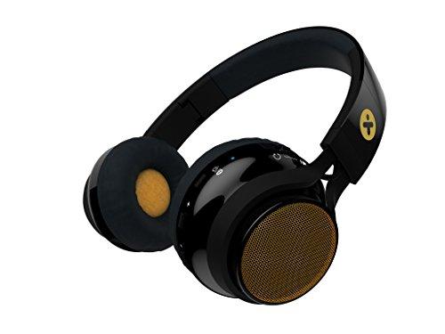 X-Mini Evolve - Auriculares con Altavoces inalámbricos, Color Negro y Oro