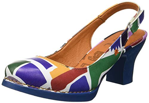 Art Damen 1066f Fantasy Harlem Pumps, Mehrfarbig (Shapes Shapes), 40 EU