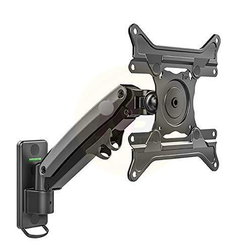 Aluminio 27-45 Pulgadas Soporte de Montaje en Pared para TV Resorte de Gas Carga del Brazo 3-13 kg MAX.VESA 200x200mm (Color: NBF425 B)