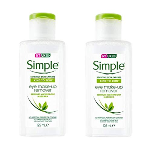 Simple Eye Make-up Remover 125 ml - Pack of 2