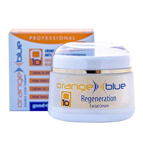 Crema Regeneradora de Cara Q10 Día y Noche 50ml - Rápida Absorción, Antiedad, Antioxidante, Antiarrugas, Testada dermatológicamente