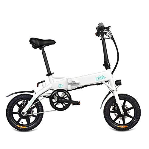 awhao 250W Faltbares E-Bike,Elektrofahrrad 14 Zoll,FIIDO D3s 7.8/10.4 Zusammenklappbares Elektrorad für Pendler,bis zu 25 km/h Worth Buying