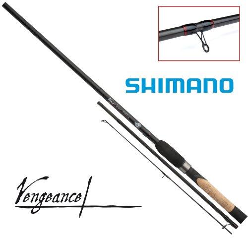 SHIMANO Vengeance Float 420 3tlg. 10-30g 4,20m Floatrute, Posenrute, VFL42