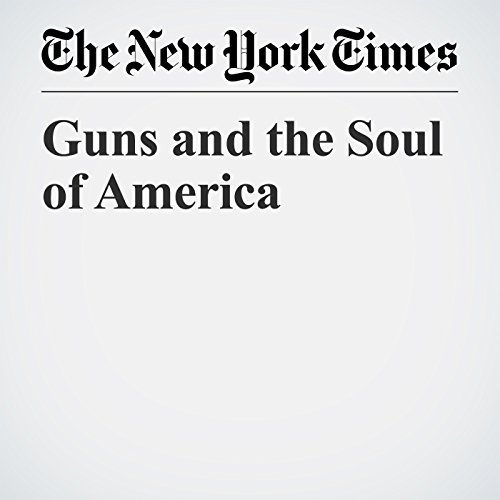 Guns and the Soul of America copertina