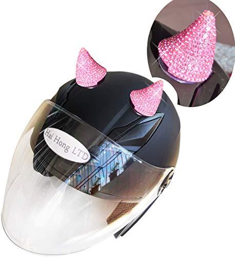 3T-SISTER Bocinas de cristal de goma para casco de motocicleta, bicicleta, esquí,...