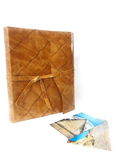 TriVin Art, Álbum de fotos artesanal de cuero auténtico de 24 x...
