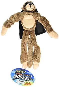 Playmaker Toys Flingshot Slingshot Flying Screaming Monkey Brown