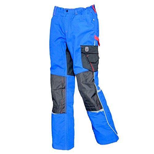 Terrax Workwear Bundhose blau rot   56