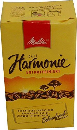 Melitta Harmonie entkoffeiniert Kaffeepulver 500g