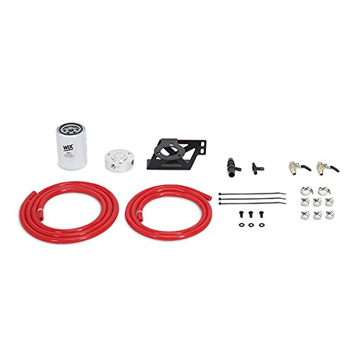 Mishimoto MMCFK-F2D-08RD Coolant Filter Kit Compatible With Ford 6.4L Powerstroke 2008-2010 Red