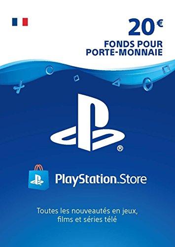 Carte PSN 20 EUR | Compte français | Code de téléchargement (PS5/PS4/PS3)