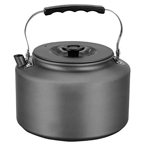 Bulin Ultraleichter Campingkessel 2,2L Tragbar Wasserkocher Hochwertiges Aluminium Outdoor Wasserkessel Teekanne Kaffeekanne für Zuhause Camping Trekking Hiking Picknick
