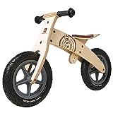 Bicicletas sin pedales Bicicleta de Equilibrio para Niños de Madera, Bicicletas de Entrenamiento con Neumáticos Pequeños y Ligeros, para Niños de 2 a 5 Años (Color : Style1)