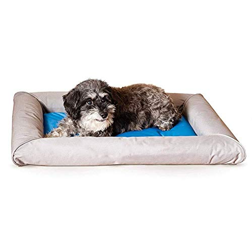 Asncnxdore. Pet Wasserbett, Hund Cool Pad Wassereinspritzung Kühlung Pet Pad Bequem Und Komfortabel Vier Jahreszeiten Universal Katze Hund (Size : L)