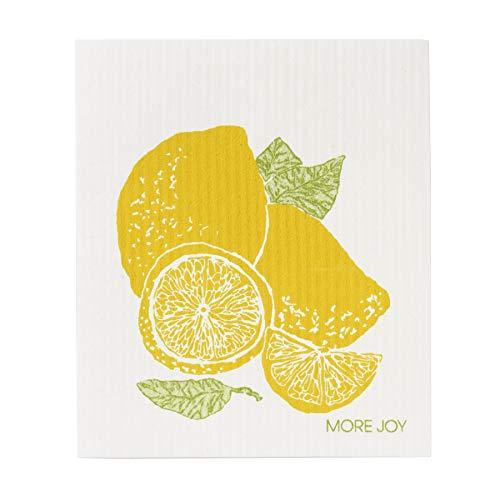 モアジョイ(Morejoy) ふきん レモン ソフトクロス 北欧 セルロース エコ 8267