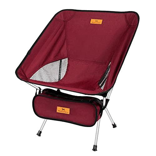 アウトドアチェア 折りたたみ椅子 キャンプチェア コンパクト超軽量 耐荷重120kg お釣り 登山 携帯便利