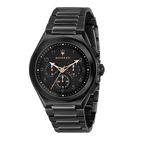 Reloj para Hombre, Colección TRICONIC, en Acero, PVD Negro - R8873639003